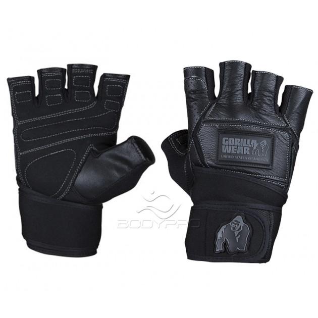 Gorilla Wear Перчатки Hardcore Wrist Wraps Gloves Black