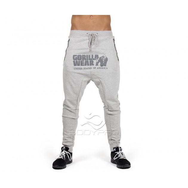 Gorilla Wear Штаны Alabama Drop Crotch Joggers Gray