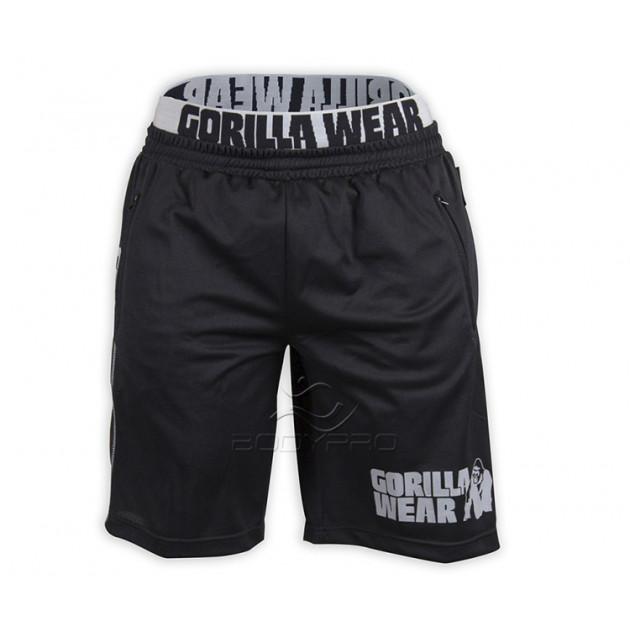 Gorilla Wear Шорты California Mesh Shorts Black/Grey