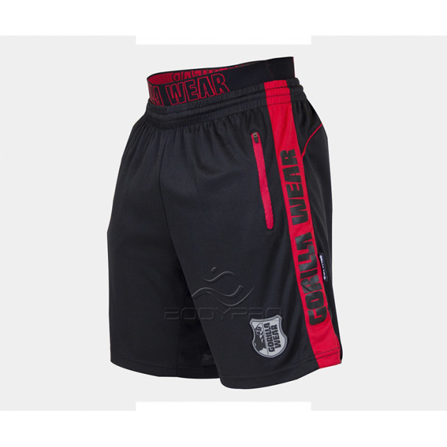 Gorilla Wear Шорты Shelby Shorts Black/Red
