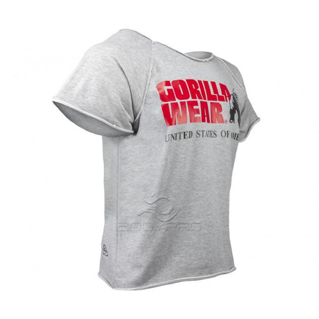Gorilla Wear Футболка Classic Work Out Top Gray