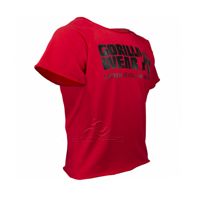 Gorilla Wear Футболка Classic Work Out Top Red