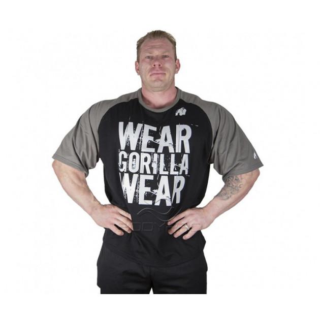 Gorilla Wear Футболка Colorado Oversized T-Shirt Black/Grey