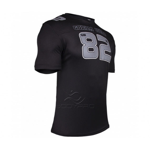 Gorilla Wear Футболка Fresno T-shirt Black/Gray