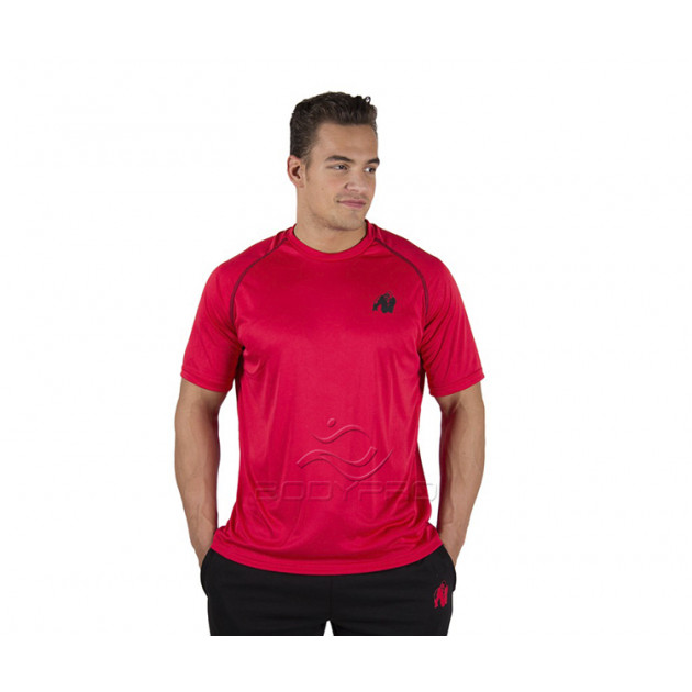 Gorilla Wear Футболка Performance T-shirt Red/Black