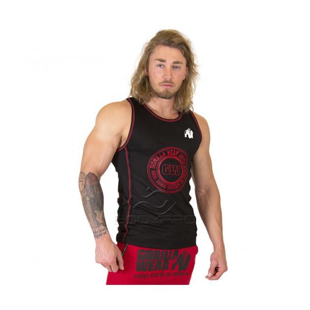 GorillaWear Майка Kenwood Tank Top Black/Red