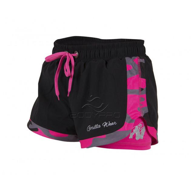 Gorilla Wear Шорты Denver Shorts Black/Pink