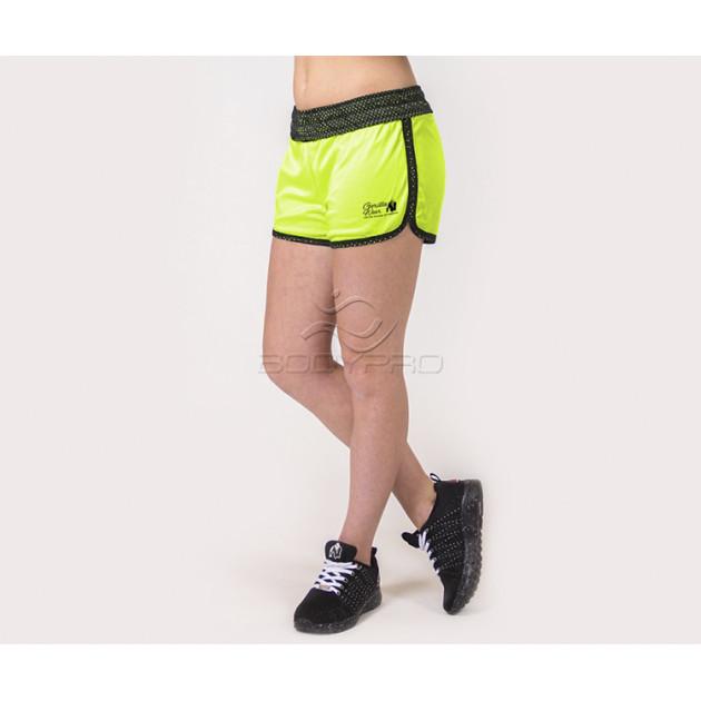 Gorilla Wear Шорты Madison Reversible Shorts Black/Neon Lime