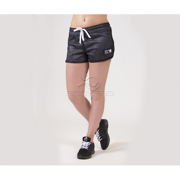 Gorilla Wear Шорты Madison Reversible Shorts Black/White