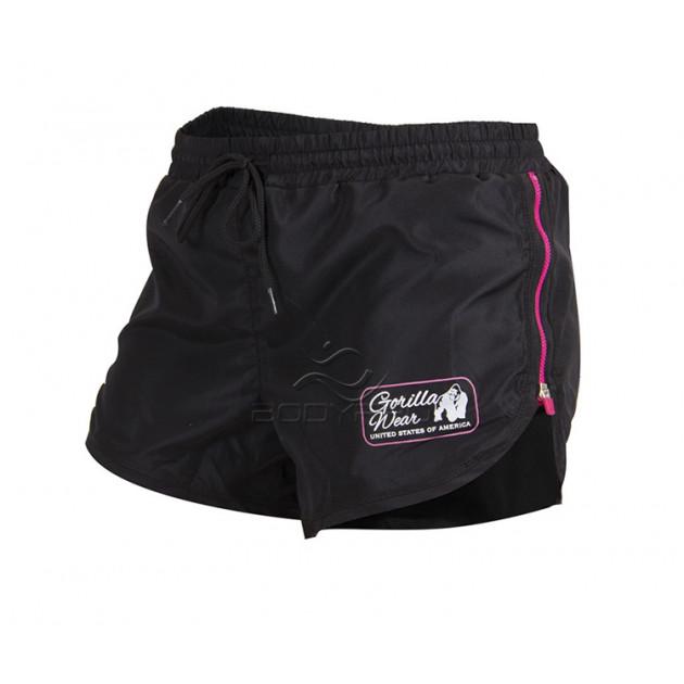 Gorilla Wear Шорты Women's New Mexico Cardio Shorts Black/Pi...