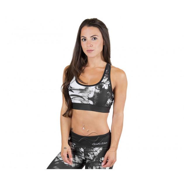 GorillaWear Топ Phoenix Sports Bra Black/White
