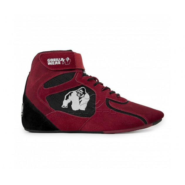 Gorilla Wear Обувь Chicago High Tops - Red/Black