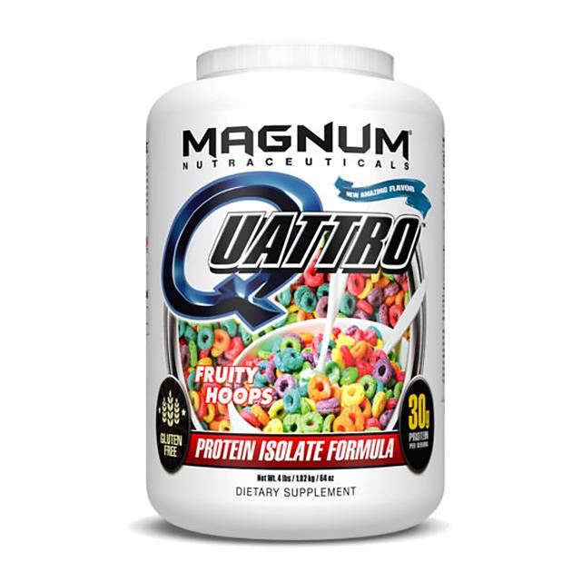 Изолят протеина Magnum Nutraceuticals Quattro 1820 г Фруктов...