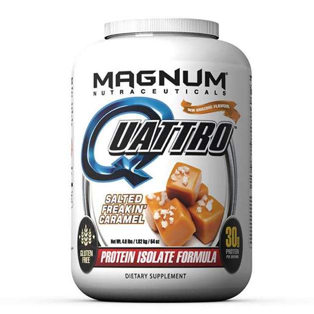 Изолят протеина Magnum Nutraceuticals Quattro 1820 г Соленая...