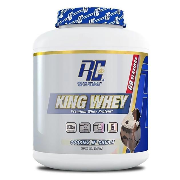 Протеин Ronnie Coleman King Whey 2270 г Печенье с кремом