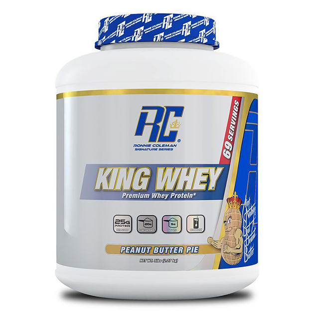 Протеин Ronnie Coleman King Whey 2270 г Пирог с арахисовым м...