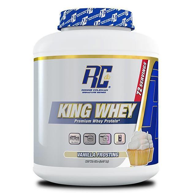 Протеин Ronnie Coleman King Whey 2270 г Ванильная глазурь