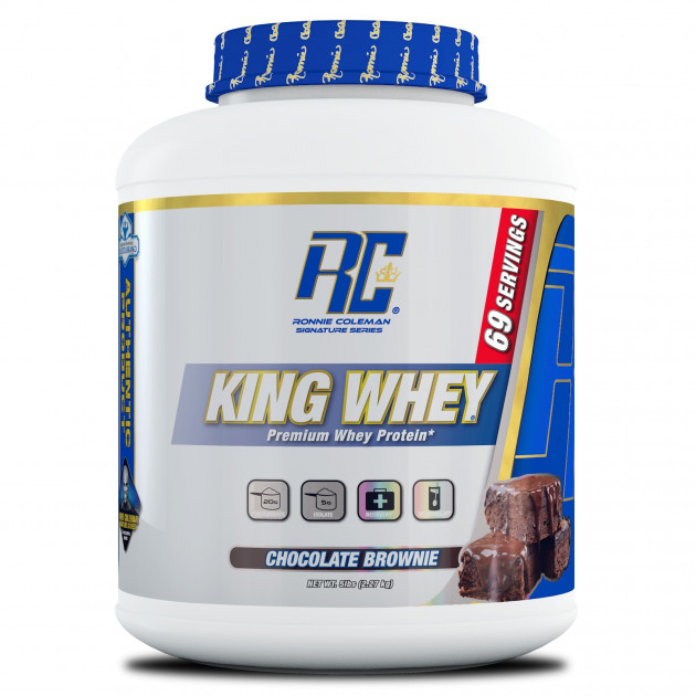 Протеин Ronnie Coleman King Whey 2270 г Шоколадный брауни