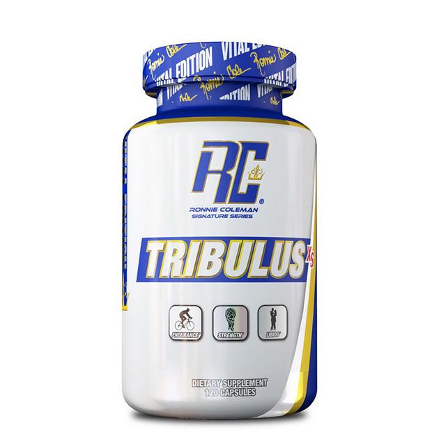 Стимулятор тестостерона Ronnie Coleman TRIBULUS-XS 120 капс