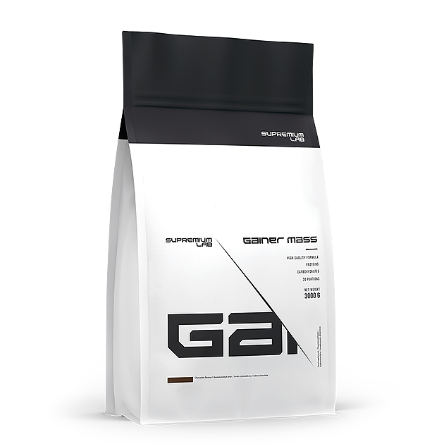 Гейнер Gainer Mass Supremium Lab 3000 г Шоколад