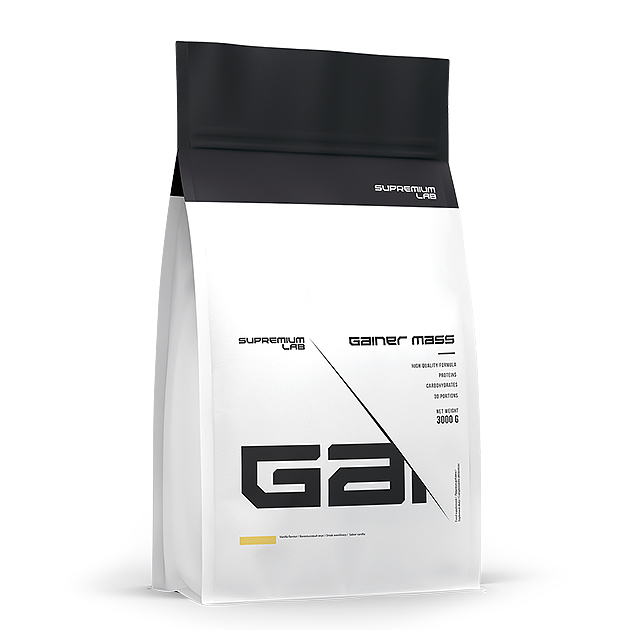 Гейнер Gainer Mass Supremium Lab 3 кг. Ваниль