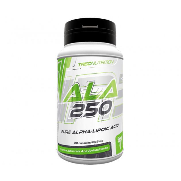 Альфа-липоевая кислота Trec Nutrition ALA 250 60 капс