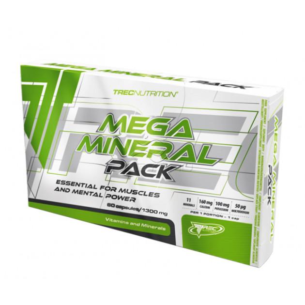 Минеральный комплекс Trec Nutrition Mega Mineral Pack 60 кап...