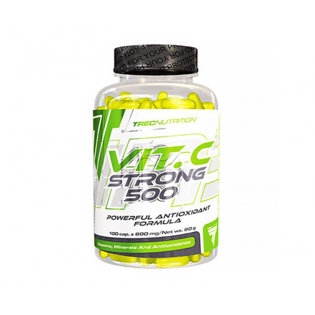 Витамины Trec Nutrition Vitamine C Strong 500 100 таб