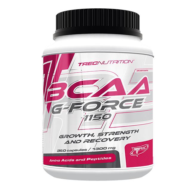 Аминокислоты Trec Nutrition BCAA G Force 1150 360 капс
