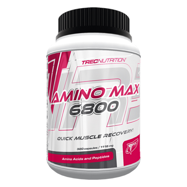 Аминокислоти Trec Nutrition AminoMax 6800 320 капс