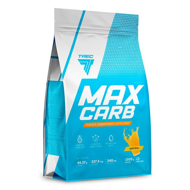 Энергетик Trec Nutrition Max Carb 1000 г Персик
