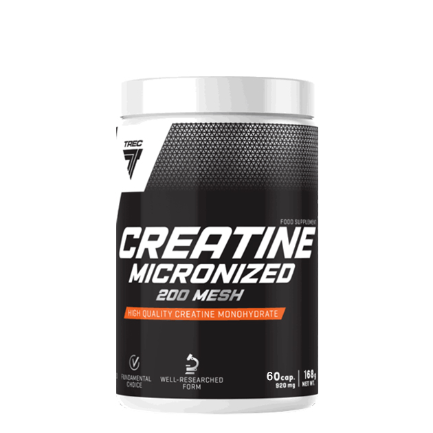 Креатин Trec Nutrition Creatine Micronized 200 Mesh 60 капс