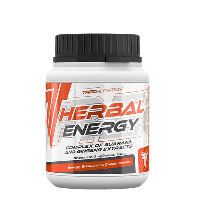 Предтренировочный комплекс Trec Nutrition Herbal Energgy 60 ...