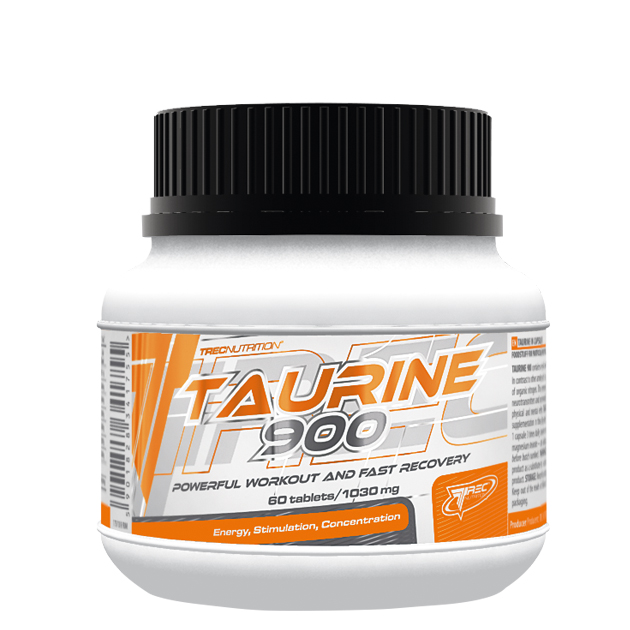 Аминокислота Trec Nutrition Taurine 900 60 таб