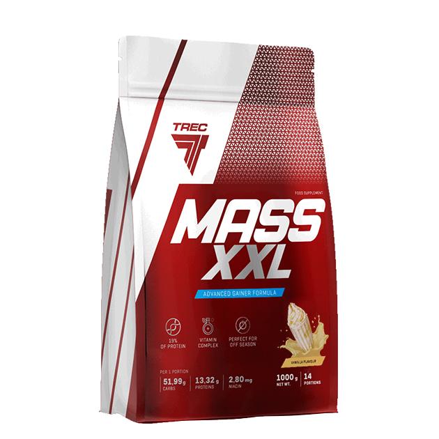 Гейнер Trec Nutrition Mass XXL 1000 г Ваниль