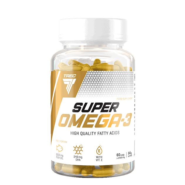Жирные кислоты Trec Nutrition Super Omega-3 60 капс