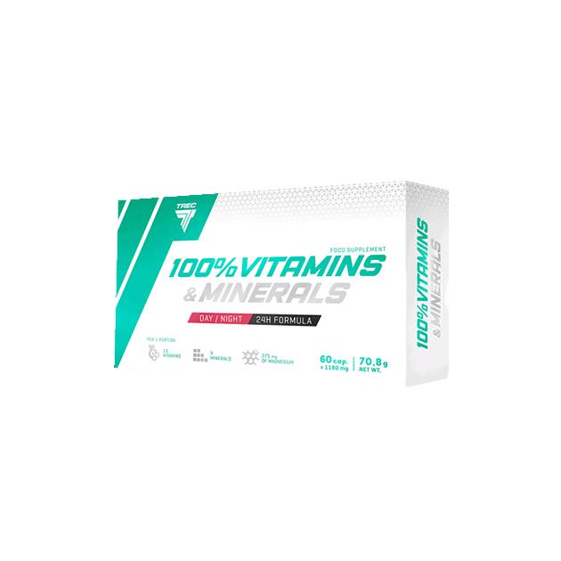 Витаминно-Минеральный комплекс Trec Nutrition 100% Vitamins ...