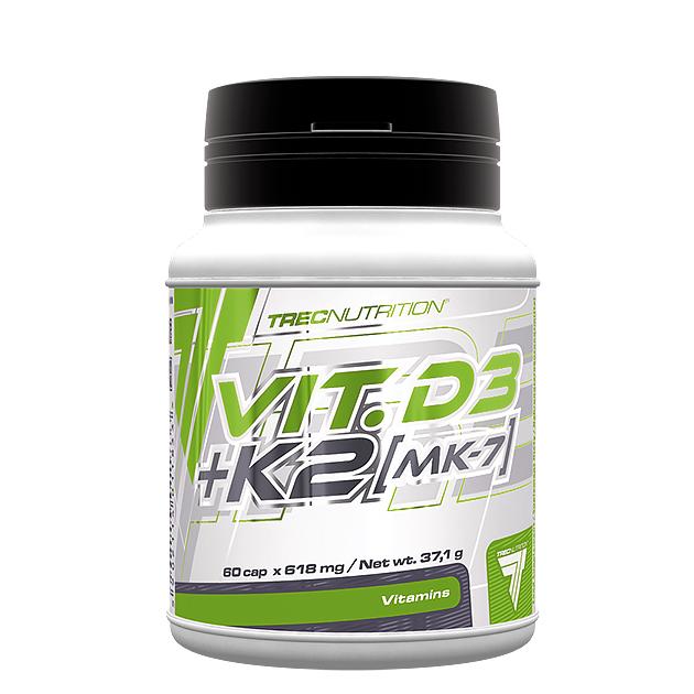 Витаминно-Минеральный комплекс Trec Nutrition Vit. D3 + K2 (...