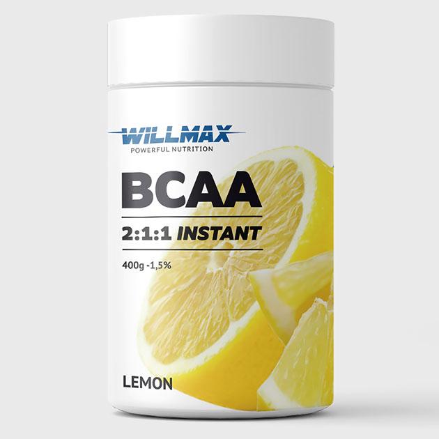 Аминокислоты Willmax BCAA 400 г Лимон