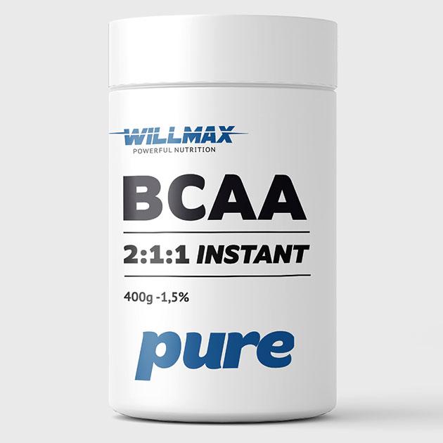 Аминокислоты Willmax BCAA 400 г Натуральный