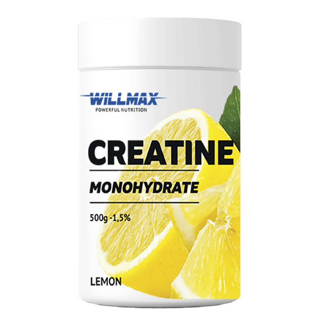 Креатин Willmax Creatine 500 г Лимон