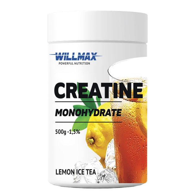 Креатин Willmax Creatine 500 г Лимонный чай