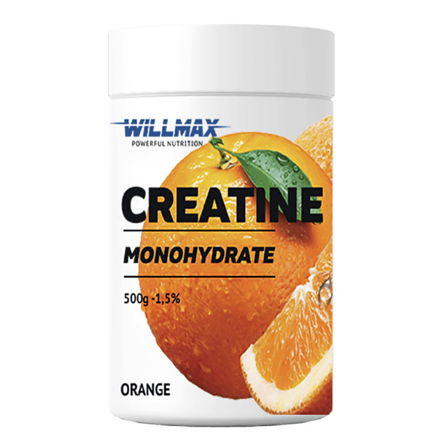 Креатин Willmax Creatine 500 г Апельсин