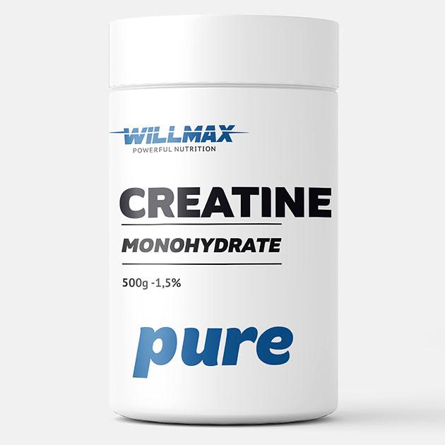 Креатин Willmax Creatine 500 г Натуральный