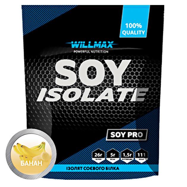 Протеин Willmax Soy Isolate 900 г Банан