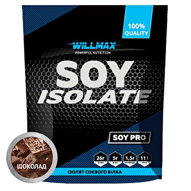 Протеин Willmax Soy Isolate 900 г Шоколад