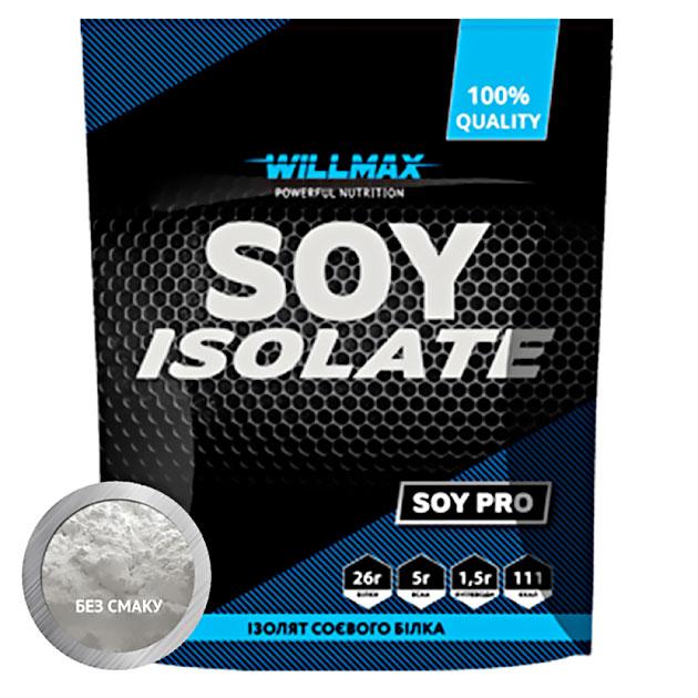 Протеин Willmax Soy Isolate 900 г Натуральный