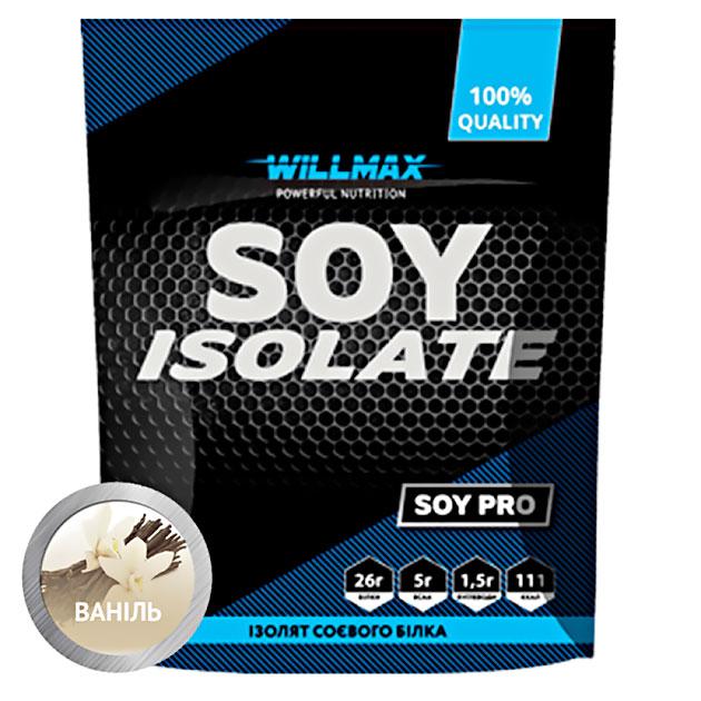 Протеин Willmax Soy Isolate 900 г Ваниль