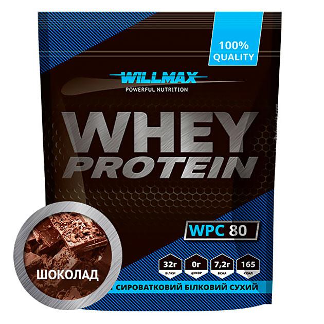 Протеин Willmax Whey Protein 80 920 г Шоколад