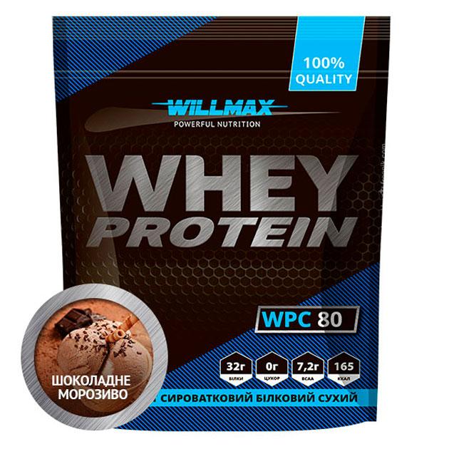 Протеин Willmax Whey Protein 80 920 г Шоколадное мороженое